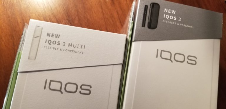 IQOS 3・lQOS 3マルチ発売中。