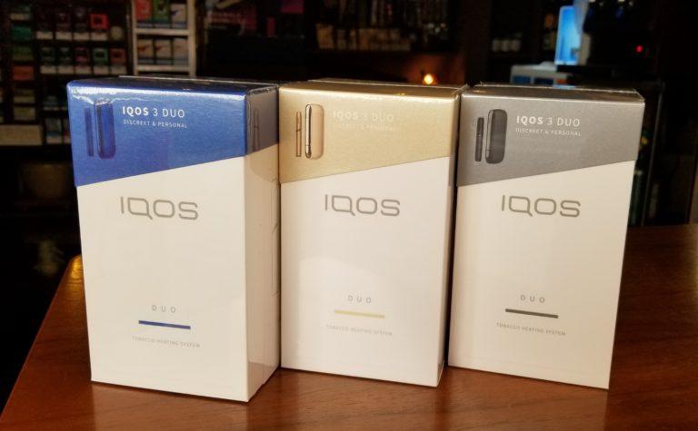 IQOS 3DUO 本体発売中。