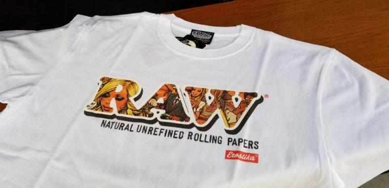RAW Tシャツ 2タイプ発売。